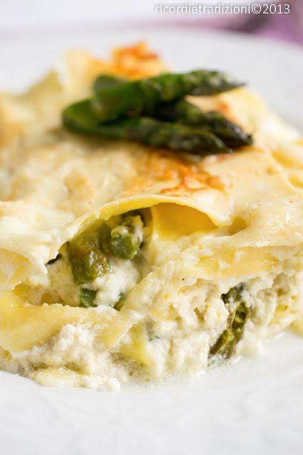 asparagi lasagne