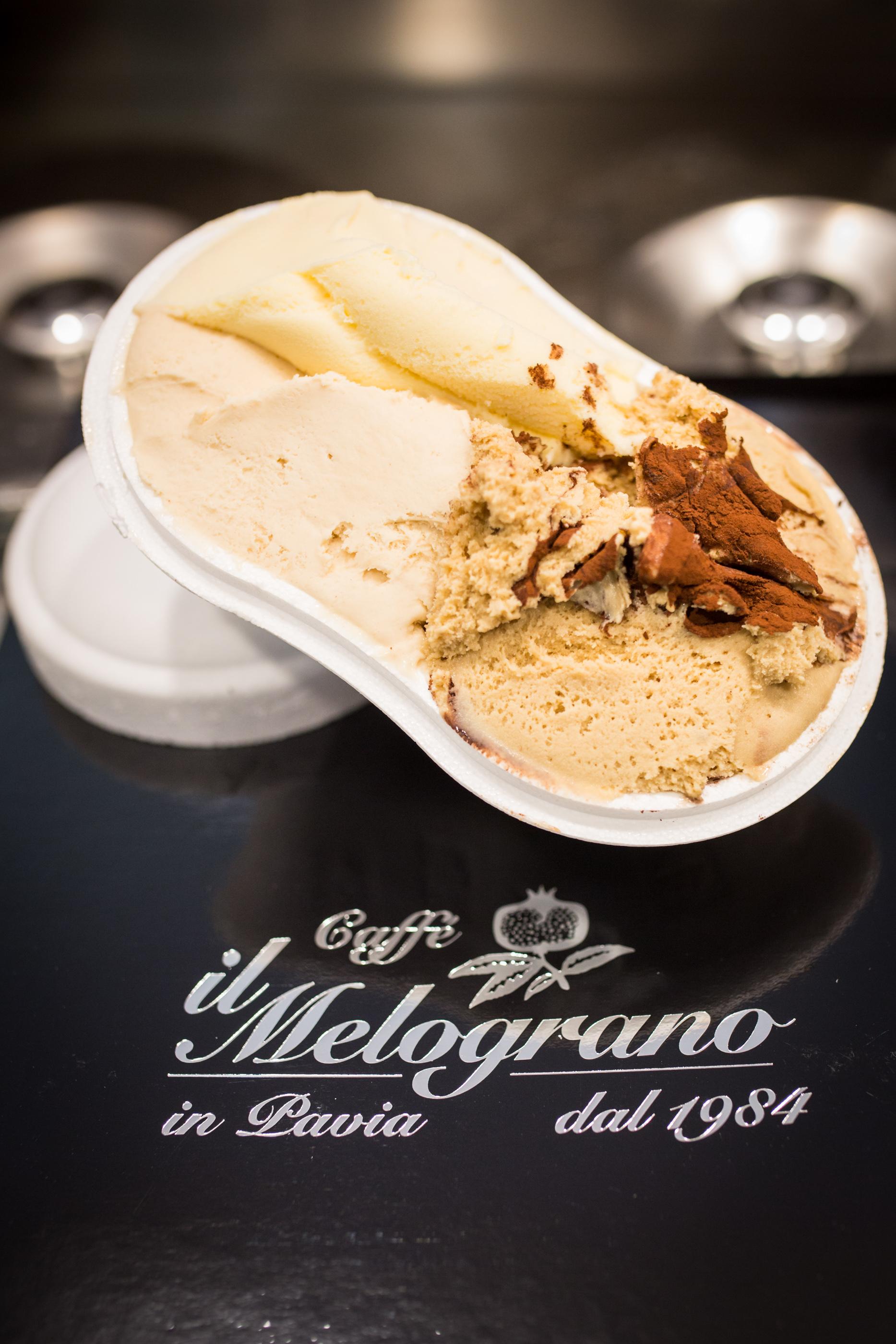 gelato caffetteria il melograno pavia